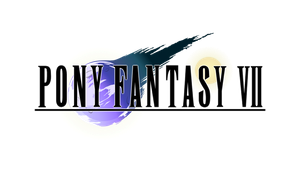 Pony Fantasy VII Logo by TheAuthorGl1m0