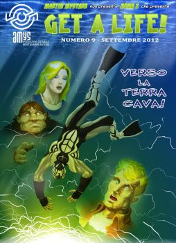 Get A Life 9 - copertina by martin-mystere