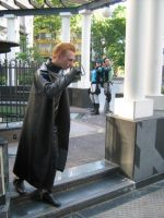 Confrontation with wesker by Chris--Redfield