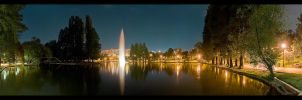 Nostalgic Night - Panorama RAW by vxside
