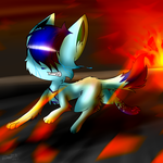 Flee For The Fire Of Memories by CyanStorm
