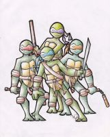 Teenage Mutant Ninja Turtles by HNAutumn
