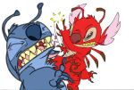 Stitch and Leroy Combat by alvin938
