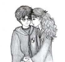 Harry and Hermione by rjade829