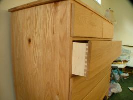 Oak chest of drawers 2 by Marcusstratus
