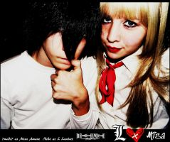 Death Note: LxMisa Halloween10 by 7madi7