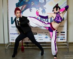 Viper VS Juri by Freia-Raven