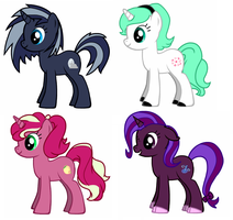 FREE mlp adopts 3 CLOSED C: by SPREEDOM