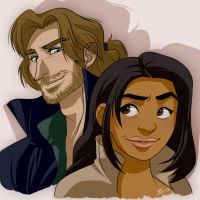 Ichabod and Abbie by Eji