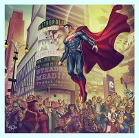 Welcome To Metropolis :Man Of Steel by ekoputeh