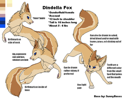 Dell Fox Concept (Base by SunnyBases) by DindellaTheDefender