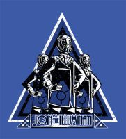 Illuminati THE SECRET WORLD Shirt design by Drunkfu