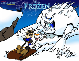 HAMR Frozen Title Card by Hewylewis