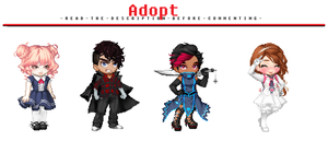 FREE Adoptables - Set 22 [OPEN] by ReddAdopts