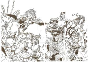 Jim Lee Bogart Part 1 XMen 1 by JamesLeeStone