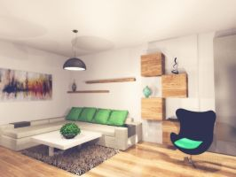 Living room concept by marlubin