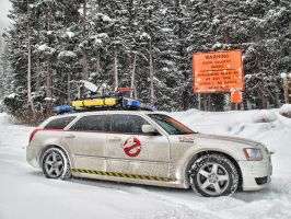 Ghostbusters Magnum Ecto-1 205 by Boomerjinks