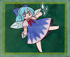 Cirno! by Sapphlet