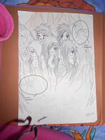 My BVB drawing signed by Ashley and Jake! by PurdyMewMew