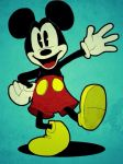 Mickey Mouse by trwaza