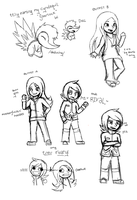 Possible Nuzlocke /doodles/ by blancci