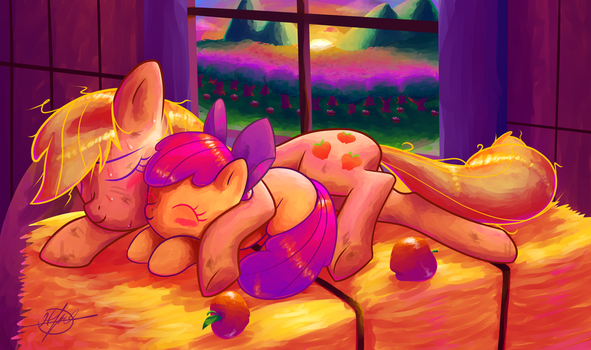 A Tired Apples by Halem1991