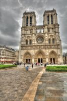 Notre Dame HDR by DanielleMiner