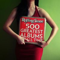 rolling stone and a red dress by yyelsel