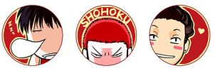 SHOHOKU Basketball team by yoeah