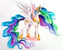 Princess Celestia by Lucky978