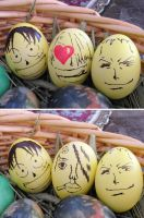 One Piece Easter Eggs by Smylez47