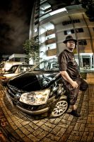 Raz1n and his Hyundai by janrystar