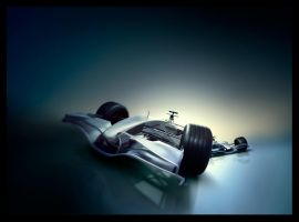 F1 Car Ad by subaqua