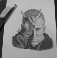 Eminem Sketch by Narniakid