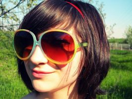 Color sunglasses by jackieslife