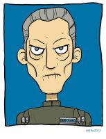 T is for Tarkin by striffle