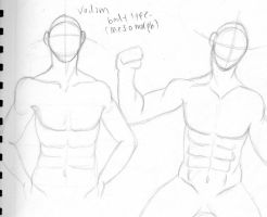 Vadim Character design 1 by VotrePoison