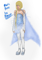 Marie Rose IcE Princess Halloween Entry by Rie--Rie