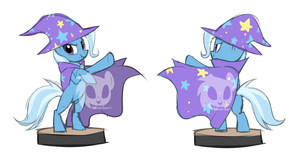 Trixie Sculpt Concept Art by Wicklesmack