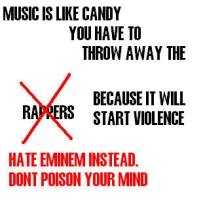 STOP RAPPERS EMINEM by slash-attack