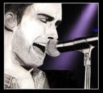 Adam Levine Purple Blaze by MetallicWonder