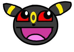 Umbreon Awesome Face by Spoofeh-Wolf