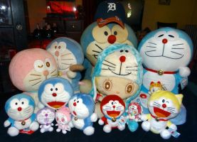 Doraemon Doll Collection by Jenn-Coney1976