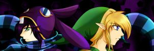 Ravio and Link Again by Alamino