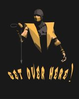 Scorpion Retro T Shirt Design by FoxHound1984
