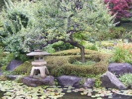 Another Japanese Garden by TigrisFirecatcher
