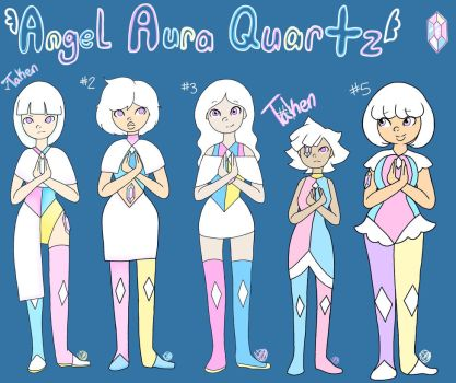 Angel Aura Quartz Adoptables by SoulFullofLove
