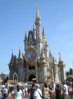 Magic Kingdom Castle by wordpainter81