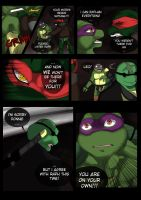 TMNT (fanmade) Same as it never was Aftershock _30 by FleshCreature