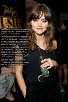 Party Girls (Jenna Coleman) by wujeeboy